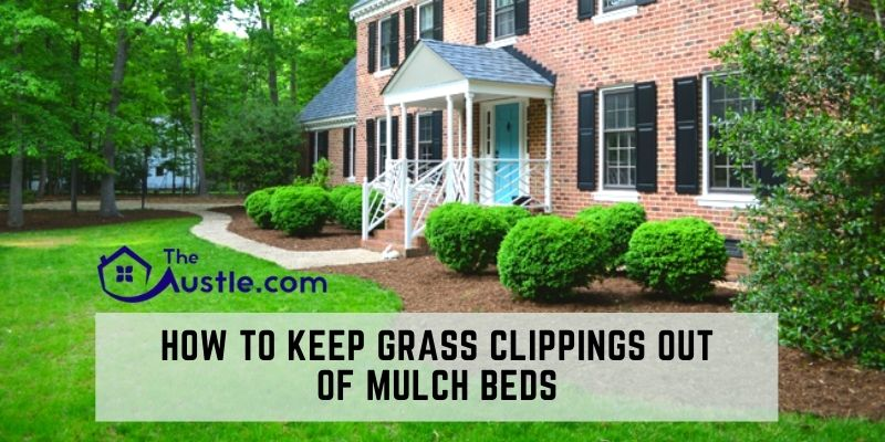 How To Keep Grass Clippings Out Of Mulch Beds