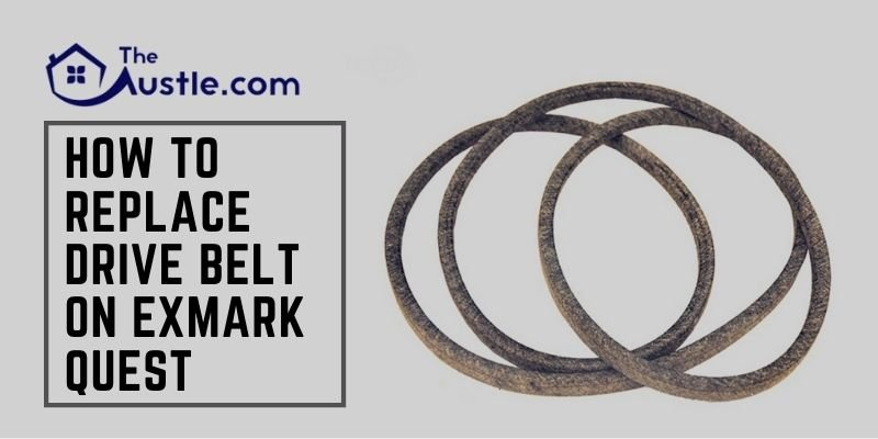 How to Replace Drive Belt on Exmark Quest