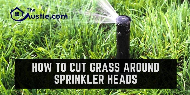 How To Cut Grass Around Sprinkler Heads