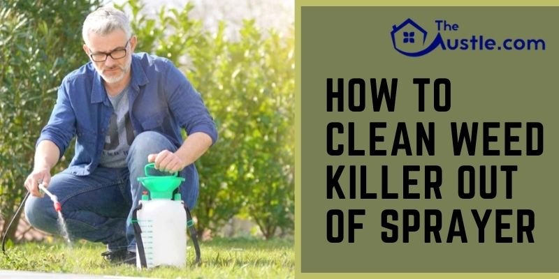 How To Clean Weed Killer Out Of Sprayer