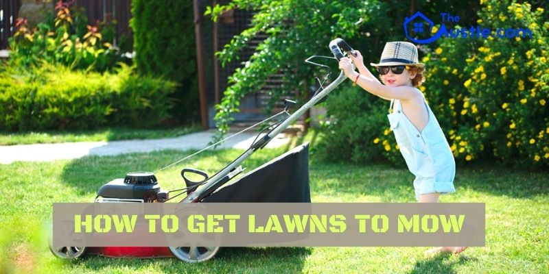 How To Get Lawns To Mow