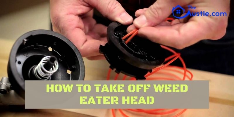 How To Take Off Weed Eater Head