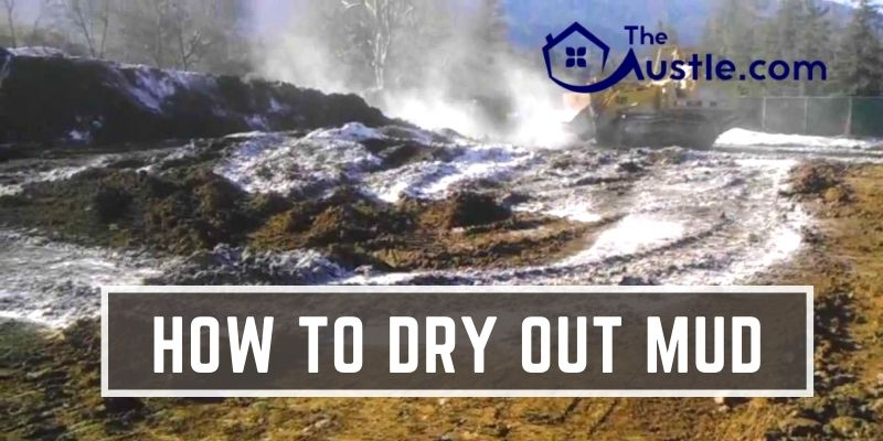 how to dry out mud