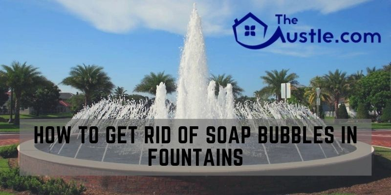 How To Get Rid Of Soap Bubbles In Fountains